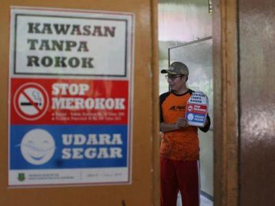 Bebaskan Sekolah dari Iklan Rokok