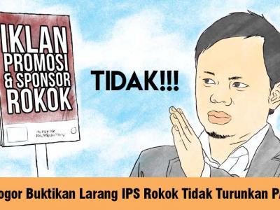 (Press Release) Kota Bogor Buktikan Bahwa Pelarangan Iklan Rokok tidak berdampak pada Penurunan PAD