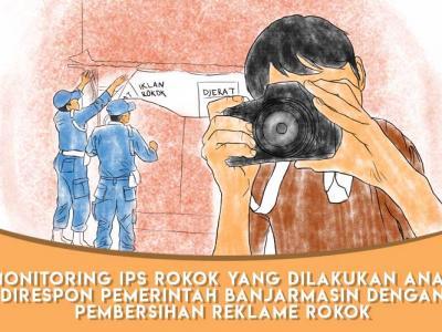 Pemko Banjarmasin Berkomitmen Bersihkan 590 Reklame Rokok untuk Dukung Kota Layak Anak, Lentera Anak Sampaikan Apresiasi
