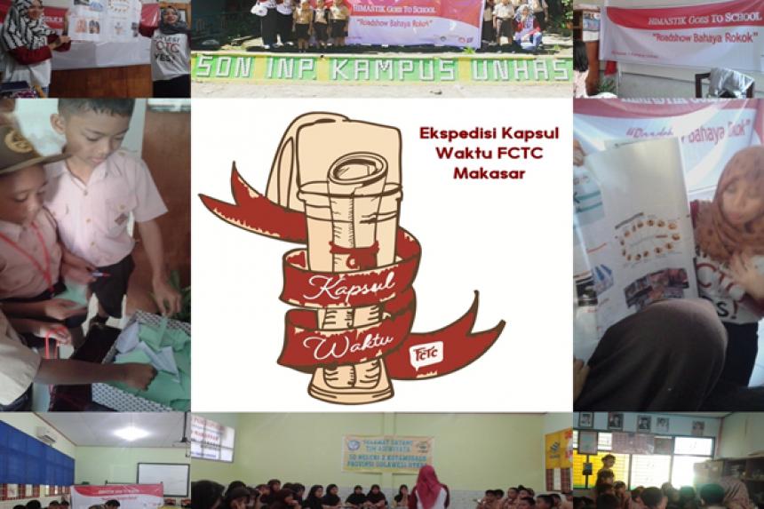 Aktivis Himastik FKM Unhas Edukasi Pelajar Makassar tentang Bahaya Rokok dan Ajak Suarakan Tolak Jadi Target Industri Rokok